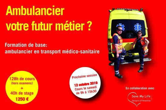 ambulancier TMS