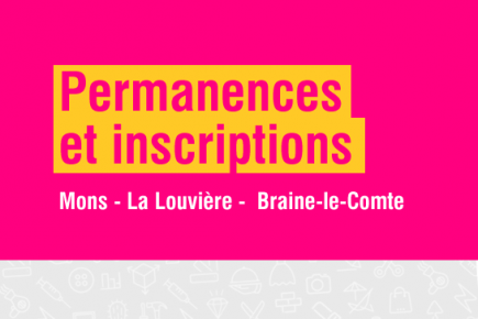 2019 Centre Ifapme Mons permanences et inscriptions